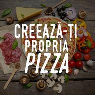 PIZZA CREATĂ DE TINE