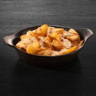 Cartofi copți cu brânză Mozzarella