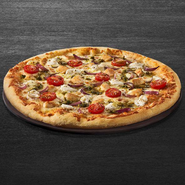 PIZZA CHICKEN CAPRESE