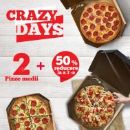 CRAZY DAYS – ONLINE ONLY