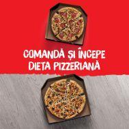 Pizza mică la 1 leu