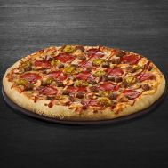 PIZZA SPICY BBQ BEEF