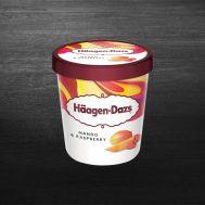 Înghețată Häagen-Dazs Mango & zmeura 460ml