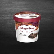 Inghetata Haagen Dazs Belgian Chocolate 95ML