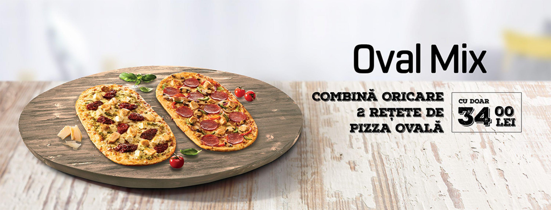 PIZZA HUT ȘI PIZZA HUT DELIVERY TE INVITĂ SĂ ÎŢI DESCHIZI CERCUL DE PRIETENI CU CEA MAI NOUĂ INOVAȚIE: PIZZA OVALĂ