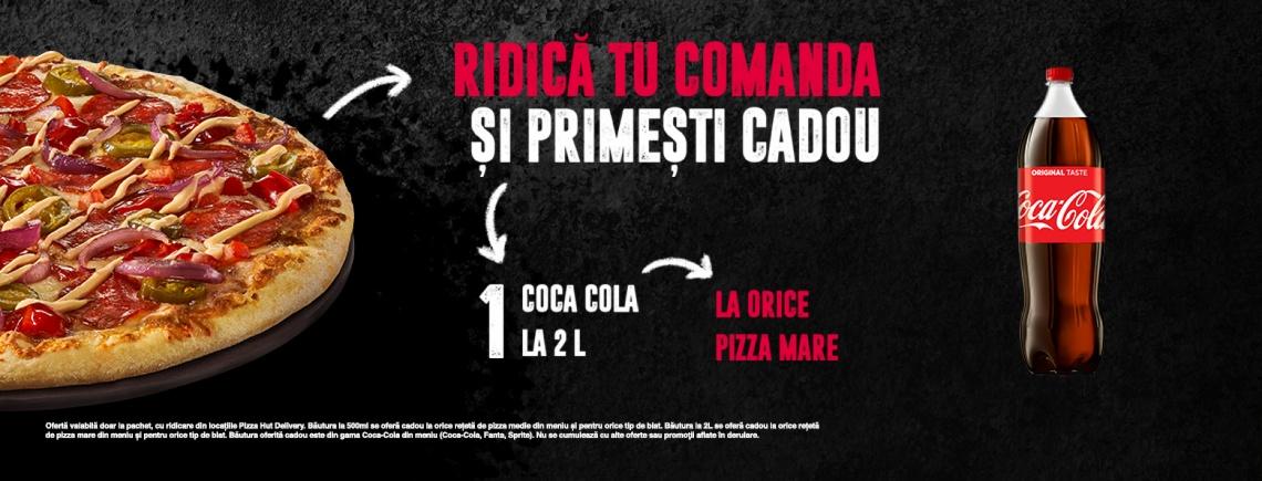 Coca Cola 2L Cadou